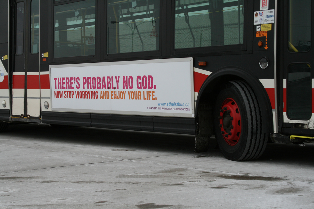 Toronto Atheist Bus - CC / Flickr