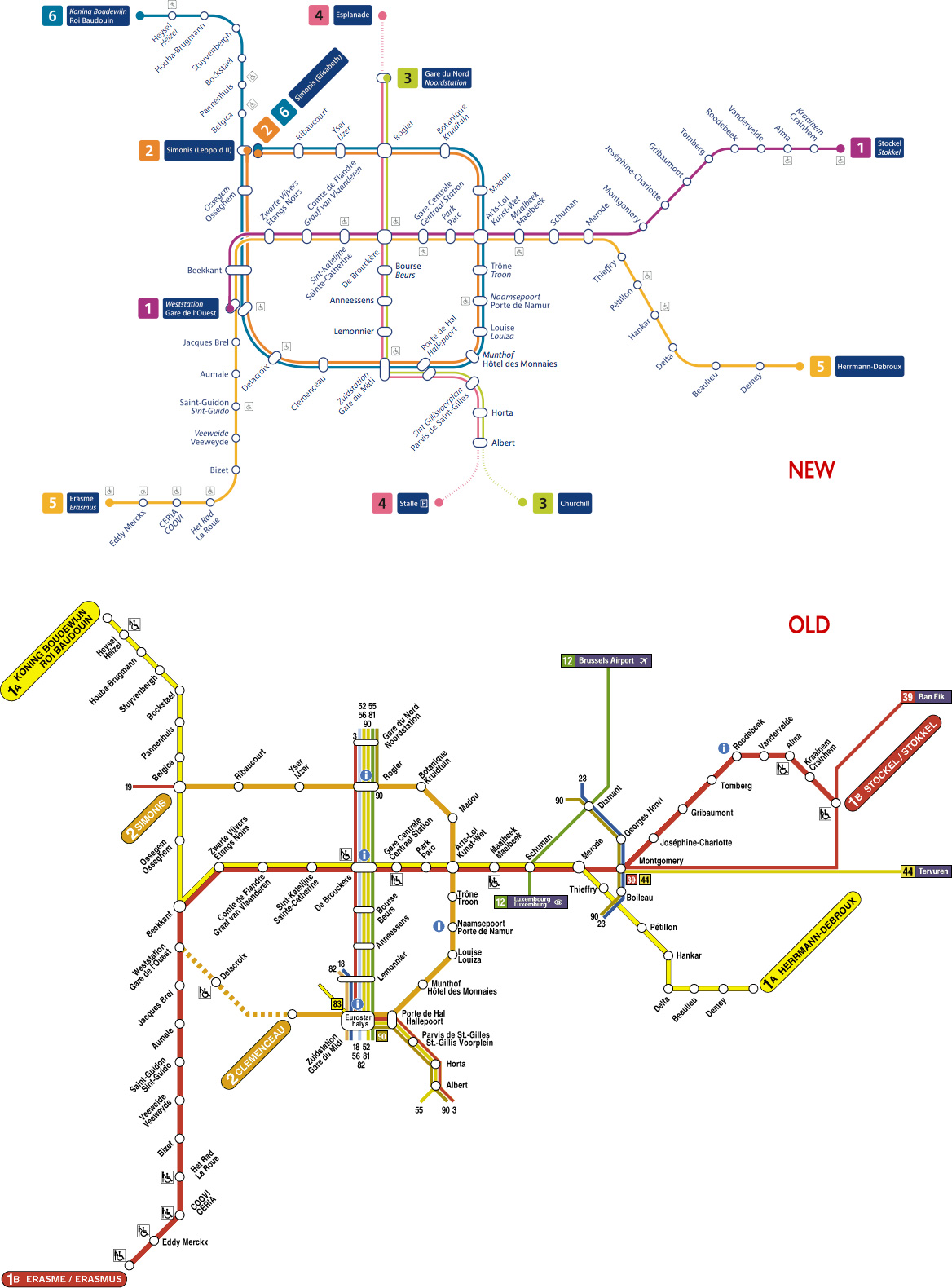 Introducing the very real Kafka Metro in Brussels Jon Worth Euroblog