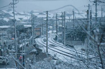 Snowy railways - CC / Flickr
