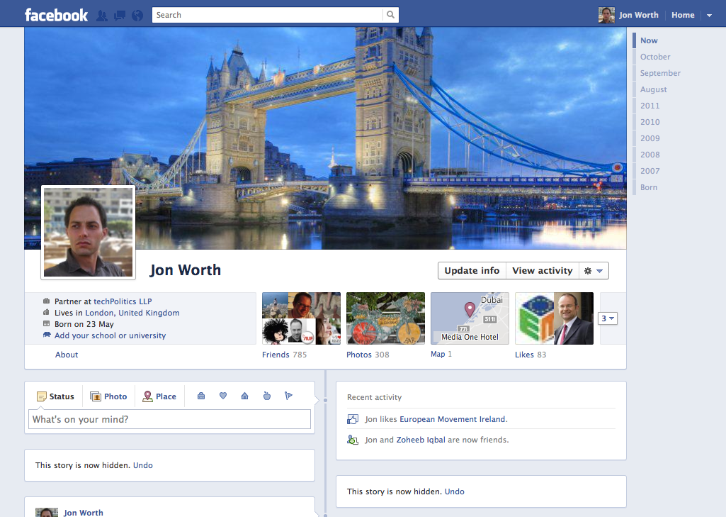 An idea for a little Facebook mashup for travellers