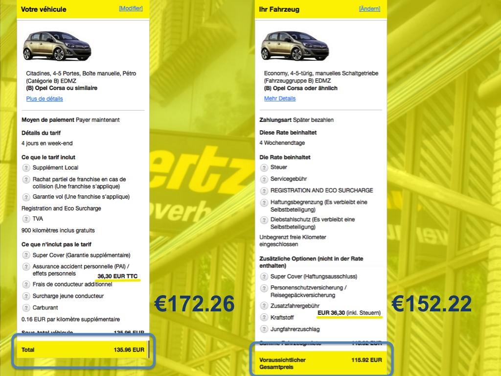 Exceptionnel Revisiting car hire price discrimination - 1 step forward  PQ38