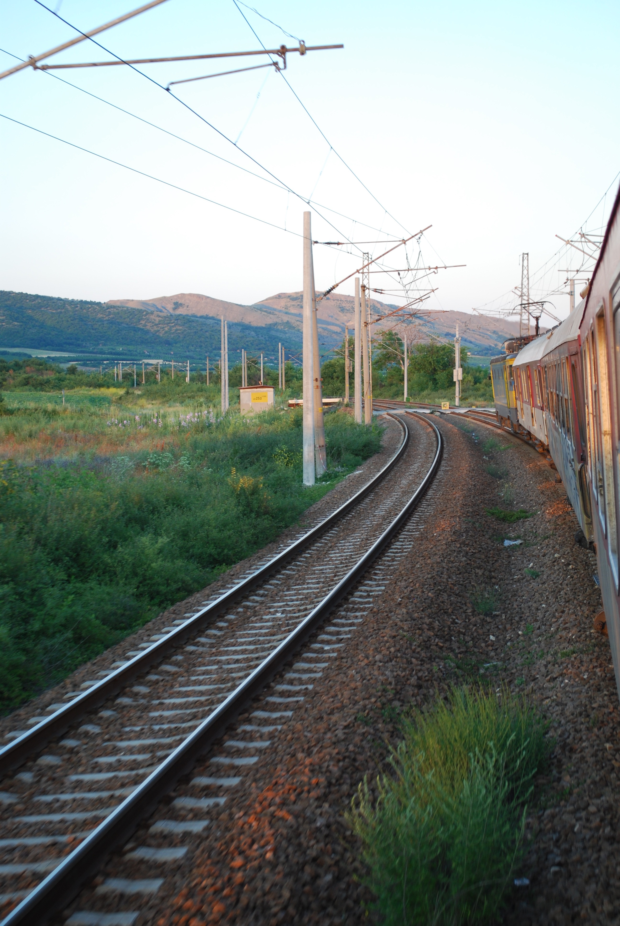 A guide to the trains of bulgaria jon worth euroblog for Do metro trains have bathrooms
