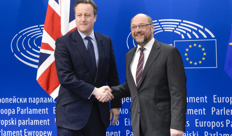 David Cameron, democracy and the European Parliament