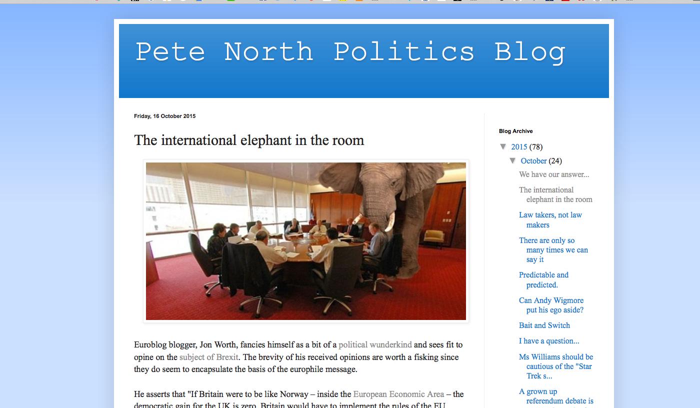 A response to Pete North - Jon Worth Euroblog