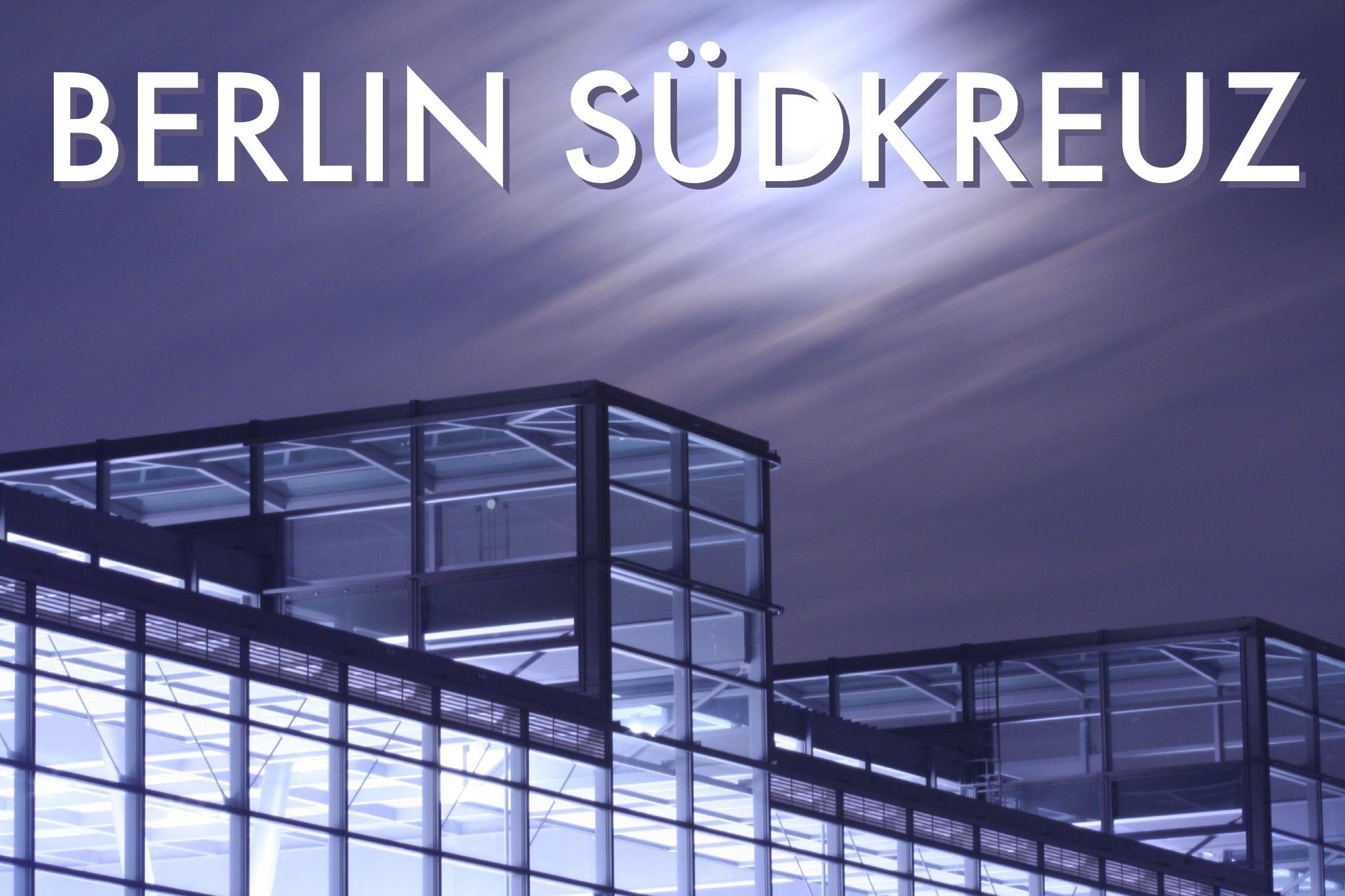A rail postcard from Berlin Südkreuz