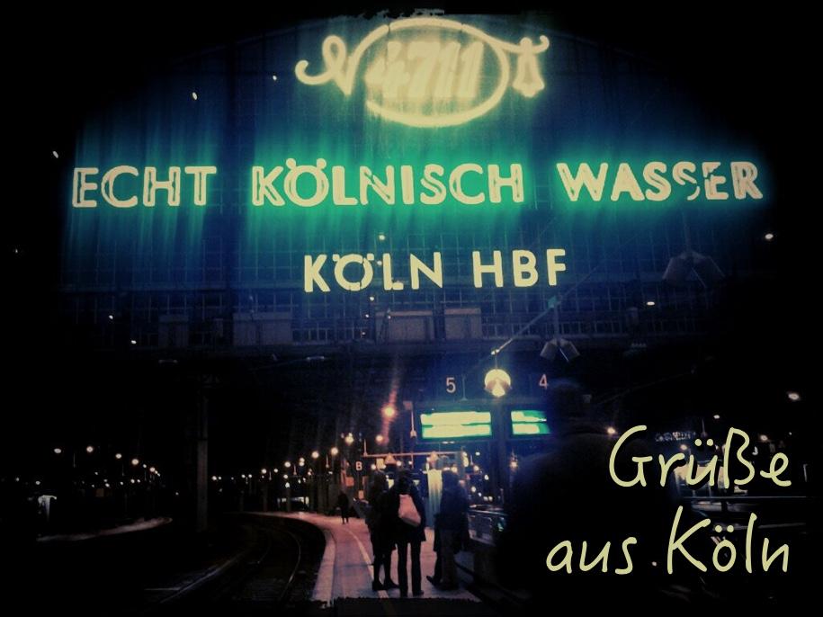 A rail postcard from Köln