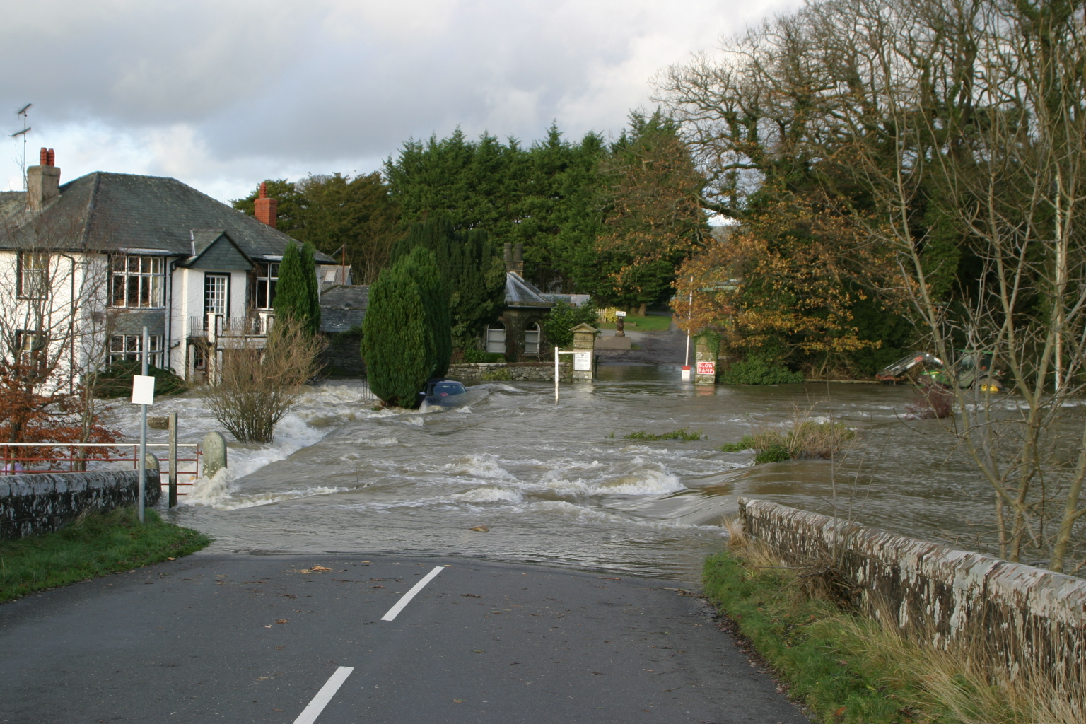 The UK government and EU flood aid money: about as clear as the Cumbria flood waters