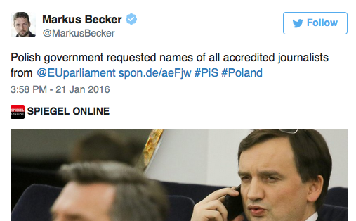 Why don't we all know which journalists are accredited to the EU institutions?