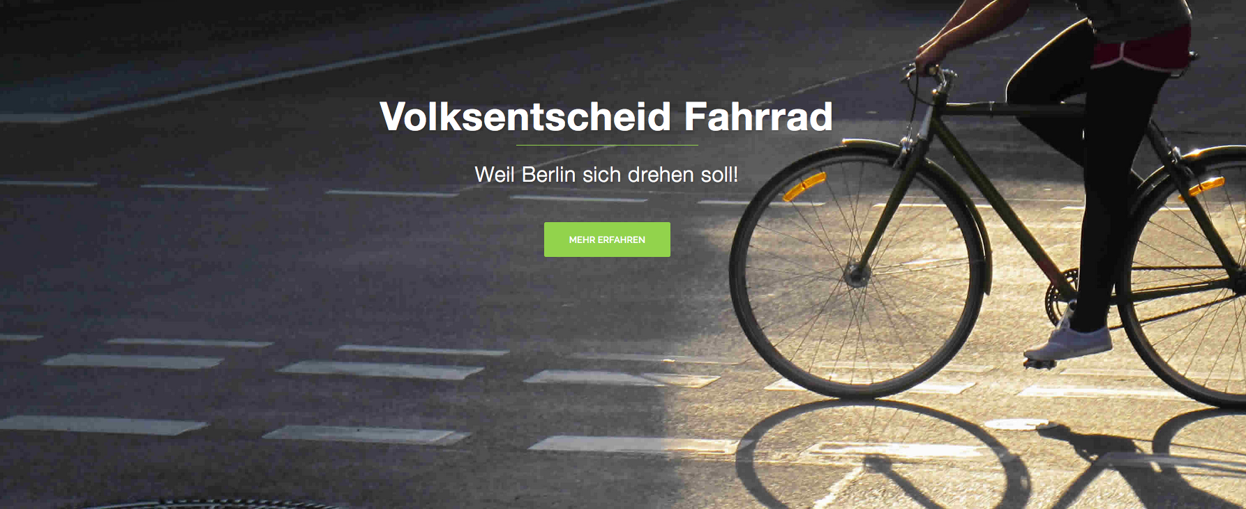 Does Berlin need a cycling policy referendum?