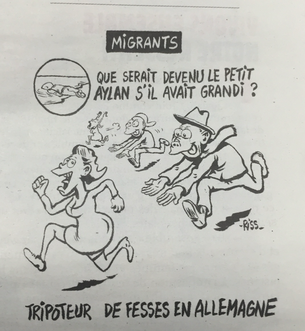 Charlie Hebdo, Alan Kurdi and Köln