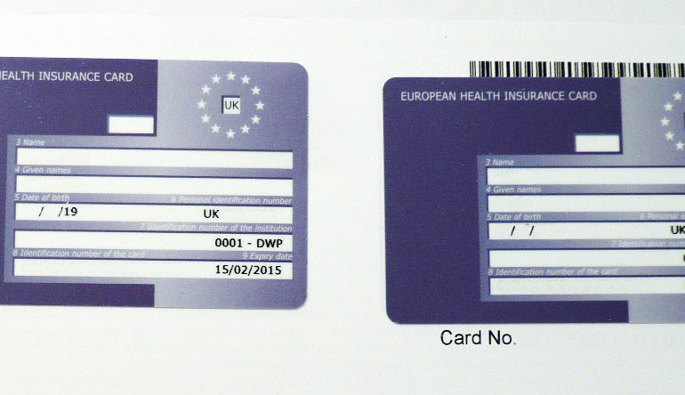 Brexit and the European Health Insurance Card (EHIC) – known unknowns