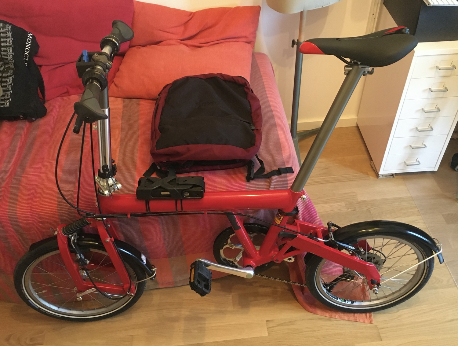 Turning A 2001 Riese Und Muller Birdy Into A Modern Folding Bicycle Jon Worth Euroblog